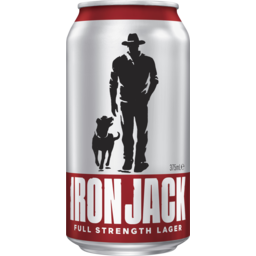 Photo of Iron Jack Full Strength Lager Can