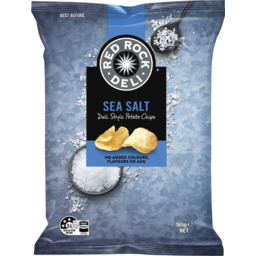 Photo of Red Rock Deli Style Potato Chips Sea Salt 165g