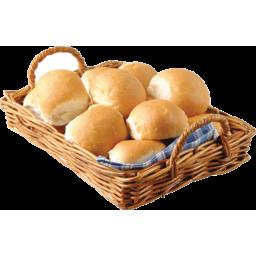 Photo of Bread Rolls Plain Bread  6 Pack