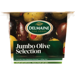 Photo of Delmaine Olives Jumbo Selection 200g