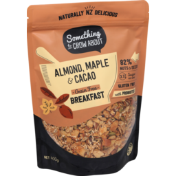 Photo of Something To Crow About Muesli Probiotic Almond Maple Cacao 400g