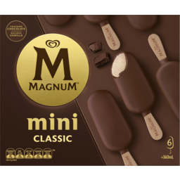 Photo of Magnum Mini Ice Cream Classic 6 Pack 360ml