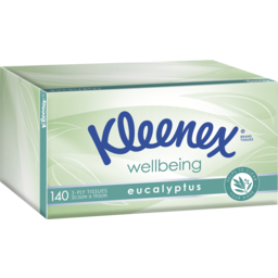 Photo of Kleenex Eucalyptus Facial Tissues 140 Pack