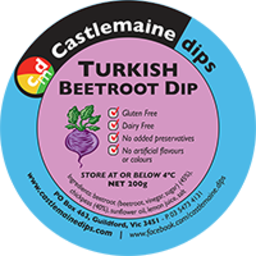 Photo of Castlemaine Dip Turkish Beetroot 200gm