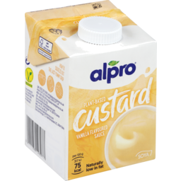 Photo of Alpro Soya Vanilla Custard 525g