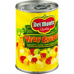 Photo of Del Monte Quality Very Cherry Mixed Fruit In A Natural Cherry Flavored Light Syrup