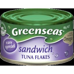Photo of Greenseas Tuna Flakes Sandwich 95g