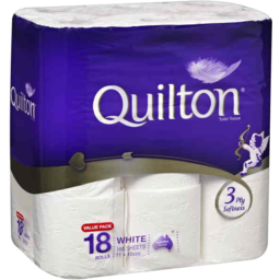 Photo of Quilton 3ply Toilet Tissue 18pk