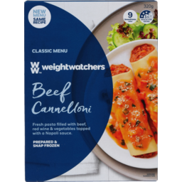 Photo of Weight Watchers Beef Cannelloni 320g
