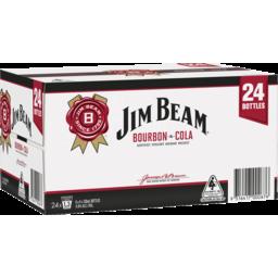 Photo of Jim Beam White & Cola Bottles