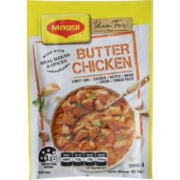 Photo of Maggi Recipe Mix Butter Chicken 29g