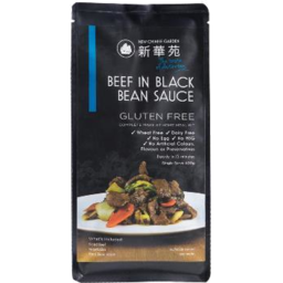 Photo of Chinese Garden Beef in Black Bean Sauce 570gm