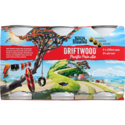 Photo of Bach Brewing Driftwood Pacific Pale Ale 6x330ml