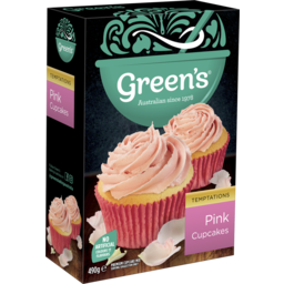 Photo of Green's Pink Cupcakes 490g