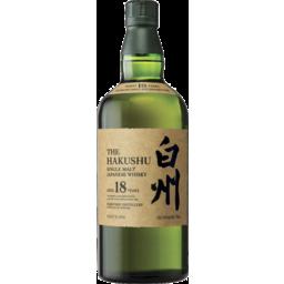 Photo of Hakushu 18yo Japanese Whisky