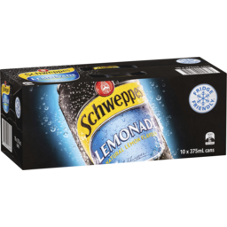 Photo of Schweppes Lemonade 10x375ml