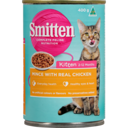 Photo of Smitten Kitten Food Mince & Chicken 400g