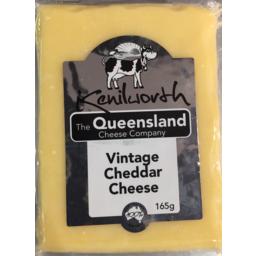 Photo of Kenilworth Cheese Vintage Club Cheddar 165g