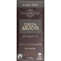 Photo of Green Blacks Organic 70% Dark 90gm