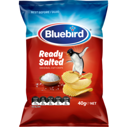 Photo of Bluebird Originals Potato Chips Ready Salted 40g