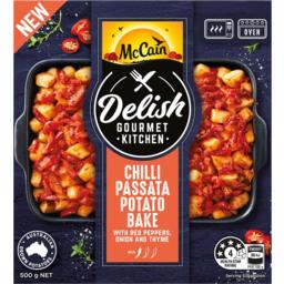 Photo of Mccain Delish Gourmet Kitchen Chilli Passata Potato Bake 500g