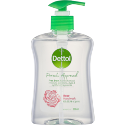 Photo of Dettol Hand Wash Anti-Bacterial Rose 250ml