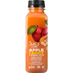 Photo of Juicy Isle Juice Apple, Carrot & Ginger 350mL