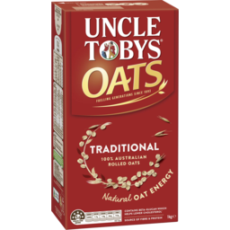 Photo of Uncle Tobys Oats Traditional 1 Kg