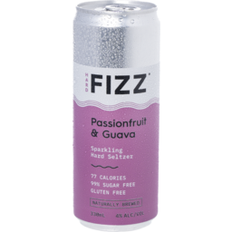 Photo of Hard Fizz Passionfruit & Guava Cans
