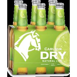Photo of Carlton Dry Natural Lime Bottles