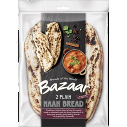 Photo of Bazaar® Naan Bread Plain 2 Pack