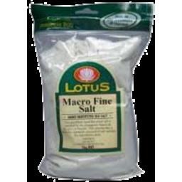 Photo of Lotus - Sea Salt - Fine Macrobiotic - 500g