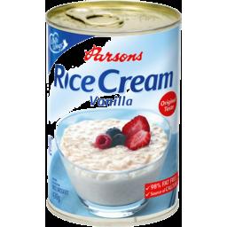 Photo of White Wings Parsons Rice Cream Vanilla 430g