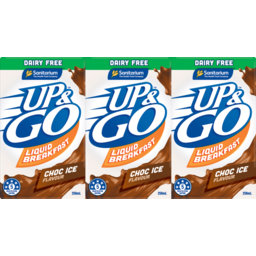 Photo of Sanitarium Up&Go Dairy Substitute Dairy Free Chocolate 3x250ml