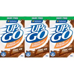 Photo of Up&Go Dairy Free Choc Ice 3x250ml