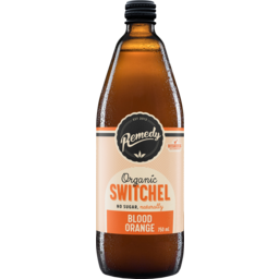 Photo of Remedy Organic Switchel No Sugar Blood Orange Sparkling Live Cultured Drink 750ml