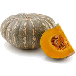Photo of Pumpkin - Kent (sliced & wrapped)