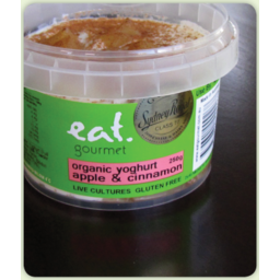 Photo of Eat Gourmet Organic Apple and Cinnamon Yoghurt 550g