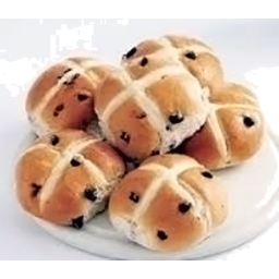 Photo of Hot Cross Buns - Spelt [6]
