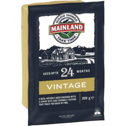 Photo of Mainland  Vintage Cheese 200g