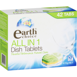 Photo of Earth Choice Dish Tablets 42pk