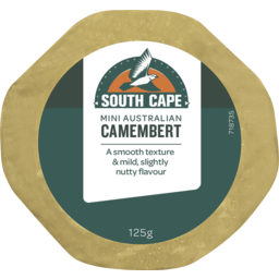 Photo of South Cape Mini Camembert 125g
