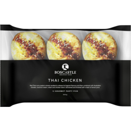 Photo of Boscastle Thai Chicken Party Pies 12pk