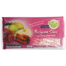 Photo of Pavillion Foods Gluten Free Belgium Slice 330g