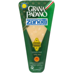 Photo of Zanetti Grana Padano Cheese 200g Fixed Weight