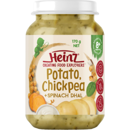 Photo of Heinz Potato Chickpea & Spinach Dahl Baby Food 120g