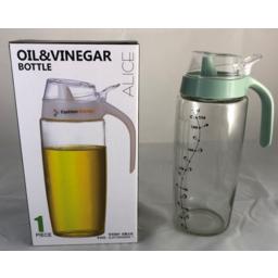Photo of Glass Oil & Vinegar Bottle 620ml