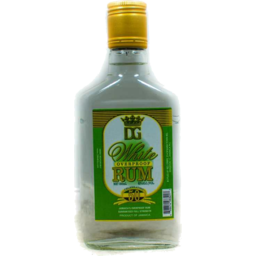Photo of D&G White Overproof Rum