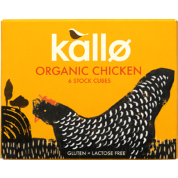 Photo of Kallo Organic Stock Cubes Chicken 66g