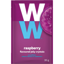 Photo of Weight Watchers Raspberry Flavoured Jelly Crystals 20g